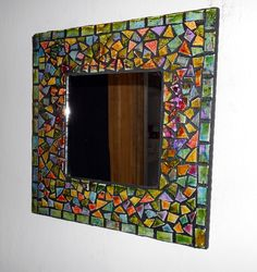 Different proportions.  Mosaic tile mirror by TaylorGlassWorks on Etsy