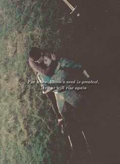 merlin- the once and future king. *tears* this is almost wirse than the ending of sherlock season 2
