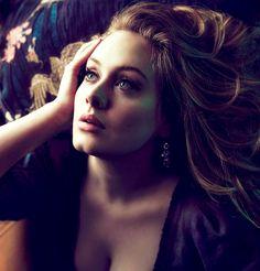 Adele at Vogue