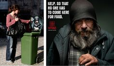 Awesome ad campaign for Vitae shelters in Portugal.