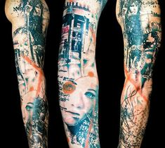 Tattoo Artist - Paul Talbot, Worcestershire United Kingdom --- Find a more tattoo - www.worldtattoogallery.com