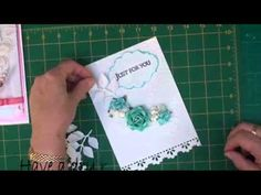 Acetate Front Card Tutorial (card-making-magic.com) ..... There are many ways to use acetate in your cardmaking. Perhaps you want a clear box lid, an aperture or shaker card. Or maybe you want a free standing card.   This is just one way to make that acetate work for you and the result is a very beautiful card.