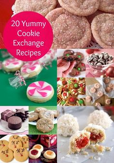 20 yummy cookie exchange recipes that will make your mouth water. These are guaranteed to please!