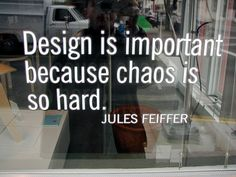 Brilliantly stated quote by Jules Feiffer.