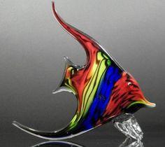 Blown glass angel fish - photo#5