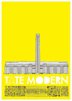 print for London's Tate Modern art gallery