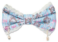 Disney x Angelic Pretty Upside Down Alice barette (2014)