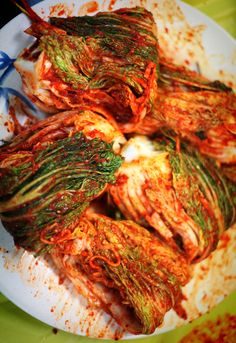 Kimchi recipe and video. Yum!