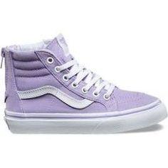 Vans Youth Sk8 Hi Zip Lavender