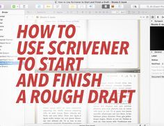 You're ready to start drafting.  At this point, you've been introduced to the important pieces of Scrivener's user interface; you're familiar with the essential plot and structure principles, including why you should break your story out into component scenes, which Scrivener excels at; you know how to create character and setting sketches using template sheets; and you have a complete account of my storyboarding process for planning stories and getting unstuck while you're writing.  In…