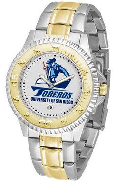 San Diego Toreros Competitor Two Tone Watch