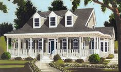 Wraparound porch, arched windows and rear terrace are only some of the great features.The Master Suite at the first floor with bayed sitting area boasts tray ceiling, walk-in-closet and large private bath.