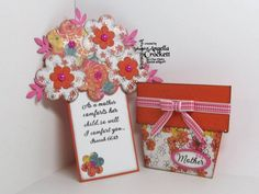 Mother's Day Flower Pot Pocket Card and Tag