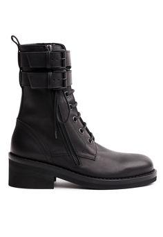 Ann Demeulemeester Combat Boots / Ann Demeulemeester
