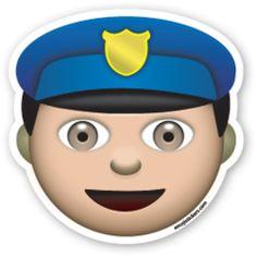 Police Officer | Emoji Stickers