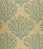Home Decor Upholstery Fabric-Regal Fabrics Emily Aqua