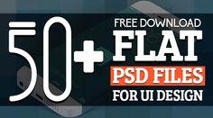 Flat PSD Files : Free Download