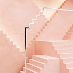 Pink tones & height fluctuations on of our latest #Architecture & #InteriorDesign project for Novelty  Project Link: http://www.anagrama.com/portafolio/244-novelty