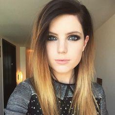 Sydney Sierota with straight hair