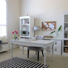 1000 images about home offices on pinterest office makeover home office and offices chic organized home office