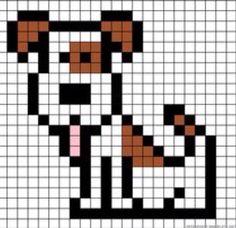 Crossword, Fuse Beads, Dog, Pixel Art, Crochet Baby, Monograms, Crossword  Puzzles, Doggies, Fusion Beads