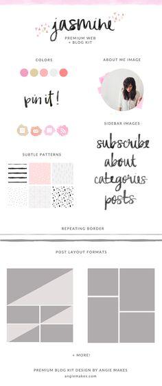 Blog Kit Graphics | angiemakes.com
