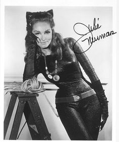 Julie Newmar - statuesque - the only word that truly described her!  (And Jeri Ryan)