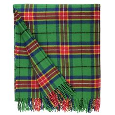 Remember the Glasgow 2014 Commonwealth Games with a brushed lambswool scarf in the bold colours of the specially designed games tartan.