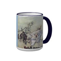 Arthur Rackham Peter Pan Fairies Coffee Mugs