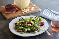 Asparagus Salad with FRESH ASIAGO PDO - Uncommon Flavors of Europe
