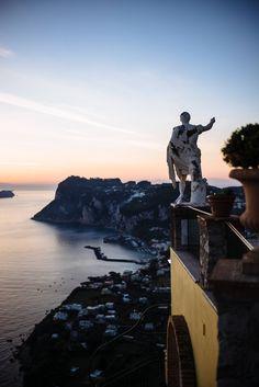 The overlook off Hotel Caesar Augustus Capri Italy, The Taste SF