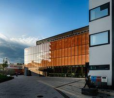 #Kulturhus in #Kungsängen mit #OKATECH von #OKALUX GmbH #Design