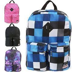 6fe9263169 Alpine Swiss Major Back Pack Bookbag School Bag Daypack 1 Year Warranty  Backpack   14.99  34.50