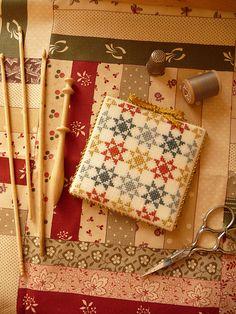 Cross stitch a quilt