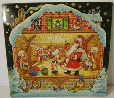 Alte Weihnachtskalender.Die 307 Besten Bilder Von Alte Adventskalender In 2017