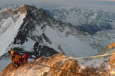 Heading towards the South Summit, Mt Everest, 19 May 2013. Photo: Marty Schmidt