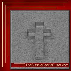 This is a 4 Cross. It is 1 inch high. This cookie cutter is $1.50. Don't forget to like us on Facebook. #CookieCutters #kitchen #Bake #Cookies #Shape #Mold #Dessert #Sugar #TheClassicCookieCutter.com Animal Cookie Cutters, Easter Cookie Cutters, Halloween Cookie Cutters, Christmas Cookie Cutters, Christmas Cookies, Christmas Tree, Leaf Cookies, Baby Cookies, Easter Cookies