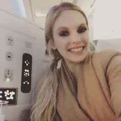 Happy! Iloinen! CU all #bett2018 #edtech fair in #london @ #ctouch booth. Plane is late because of snowing in #hel but finally Im in #finnair #airbus350  #feelfinnair #worktravel #airplane #flight #business #workbitch