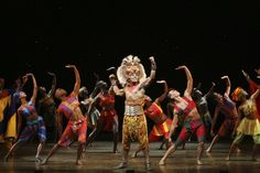 The Lion King Musical. Can't wait to go !!