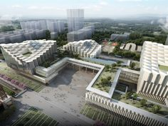 Gallery of Pei Partnership Architects Wins Competition for Nanhai Cultural Center - 3