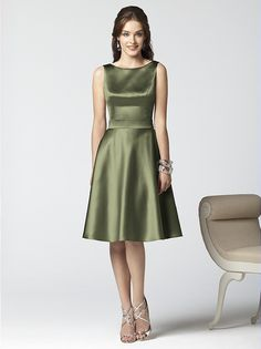 Dessy Collection Style 2852 Formal Bridesmaids Dressesgreen Wedding