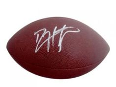 Devin Hester Autographed Football - Sports Memorabilia #DevinHester #ChicagoBears #SportsMemorabilia