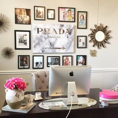 Home office decor: Fall in love with these home design ideas for your office design Home Office Space, Home Office Design, Home Office Decor, House Design, Office Ideas, Office Inspo, Office Setup, Office Lighting, Office Spaces