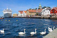 De haven van Stavanger, Noorwegen <3