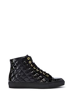 Versace - M.I.A. MENS PATENT LEATHER SNEAKERS