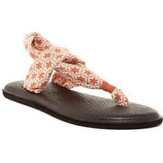 6d8ed8160f2cc5 Sanuk Yoga Sling 2 Printed Sandal ( 25) ❤ liked on Polyvore featuring shoes