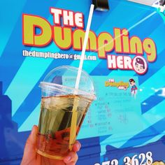 Introducing our new Hong Kong style lemon ice tea  perfect drink for this hot weather. #thedumplinghero #foodtruck #foodtrailer #yyc #calgary #alberta #hotdays #summer #refreshing #hongkong #asianstyle #lemonicedtea by thedumplinghero