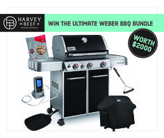 Help me win this awesome BBQ Bundle from @harveybeefwa