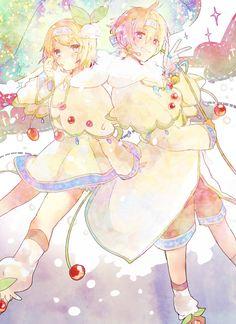 Vocaloid - Kagamine snow - Kagamine Rin & Kagamine Len - ゆきゆき by MIKO