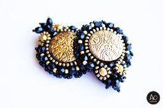 aga opalinska: lipiec 2014 Aga, Beadwork, Beading, Beaded Bracelets, Brooch, Jewelry, Beads, Jewlery, Jewerly